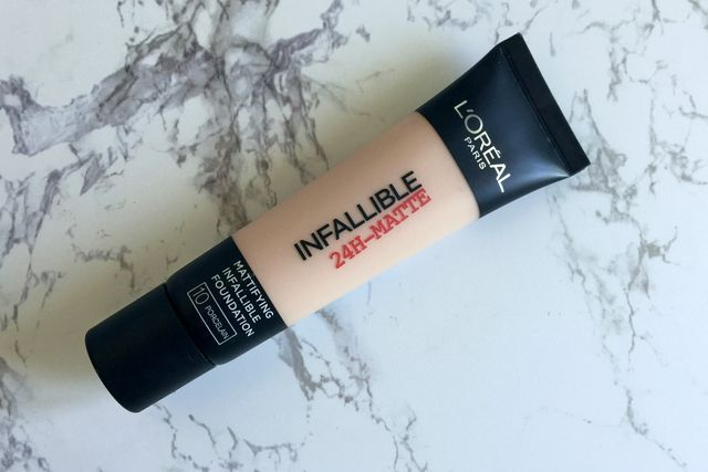 L'Oreal Infallible 24H-Matte | Review