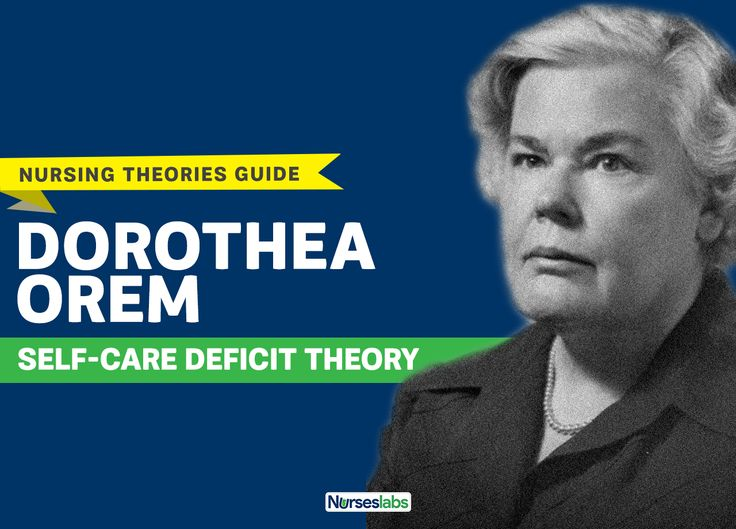 Dorothea Orem Self Care Deficit Theory Study Guide in
