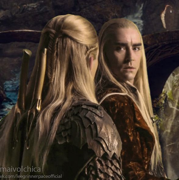 relationship between elrond and thranduil pictures
