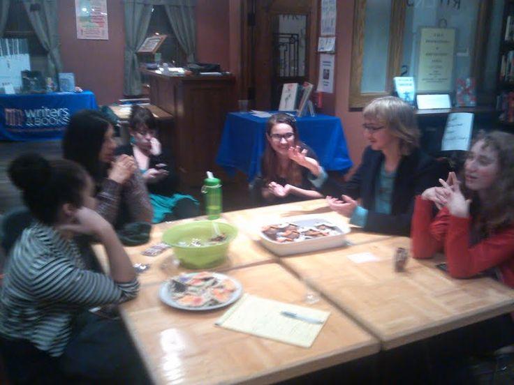 Post-reception wrap-up meeting, Autumn 2013.