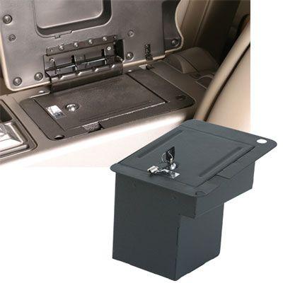CONSOLE VAULT VEHICLE SAFE auto vault, gun safe, laptop safe, gun vault, portable safe, laptop briefcase, safe manufacturer, security briefcase, vault, vehicle, truck, van, SUV, safes, gun, anti theft