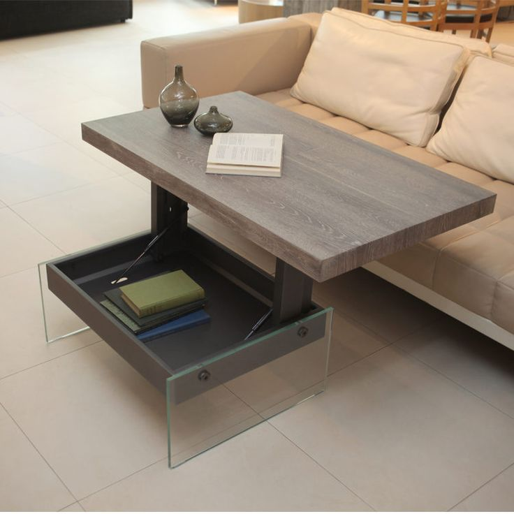 Bellagio Transforming Coffee Table Maybe Even Flatter So It Can Go Under Sofa If Needed