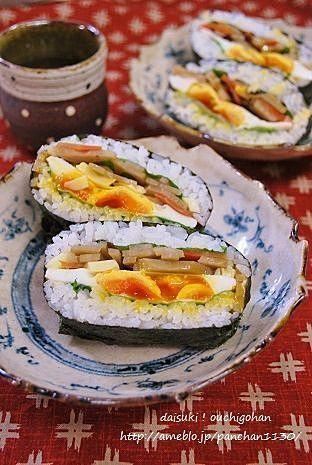 おにぎらずのおいしいレシピ集|お弁当を作ってみよう!|CAFY [カフィ]
