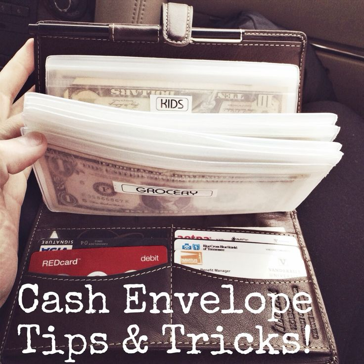 iGriza: Budgeting for 2014 : Beginning The Cash Envelopes