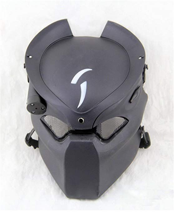 Gmasking Avp Wolf Airsoft Led Light Paintball Mask New Replica Review Airsoft And Paintball In 2019 Paintball Mask Airsoft Mask Skull Face Mask