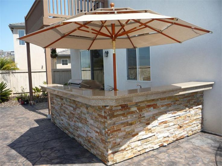 1000 Ideas About Outdoor Kitchen Kits On Pinterest Fire