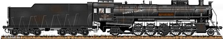 Engines of the Red Army in WW2 - Russian FD20 1-5-1 (2-10-2) Steam Locomotive