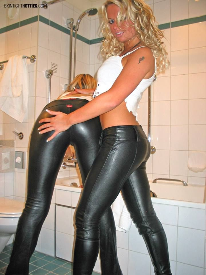 Girls in skin tight latex shorts remarkable