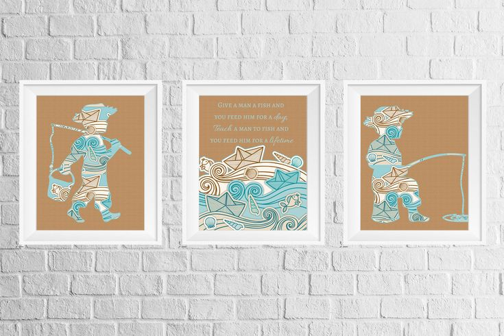 A personal favorite from my Etsy shop https://www.etsy.com/listing/532321888/boys-room-or-nursery-decor-print-set