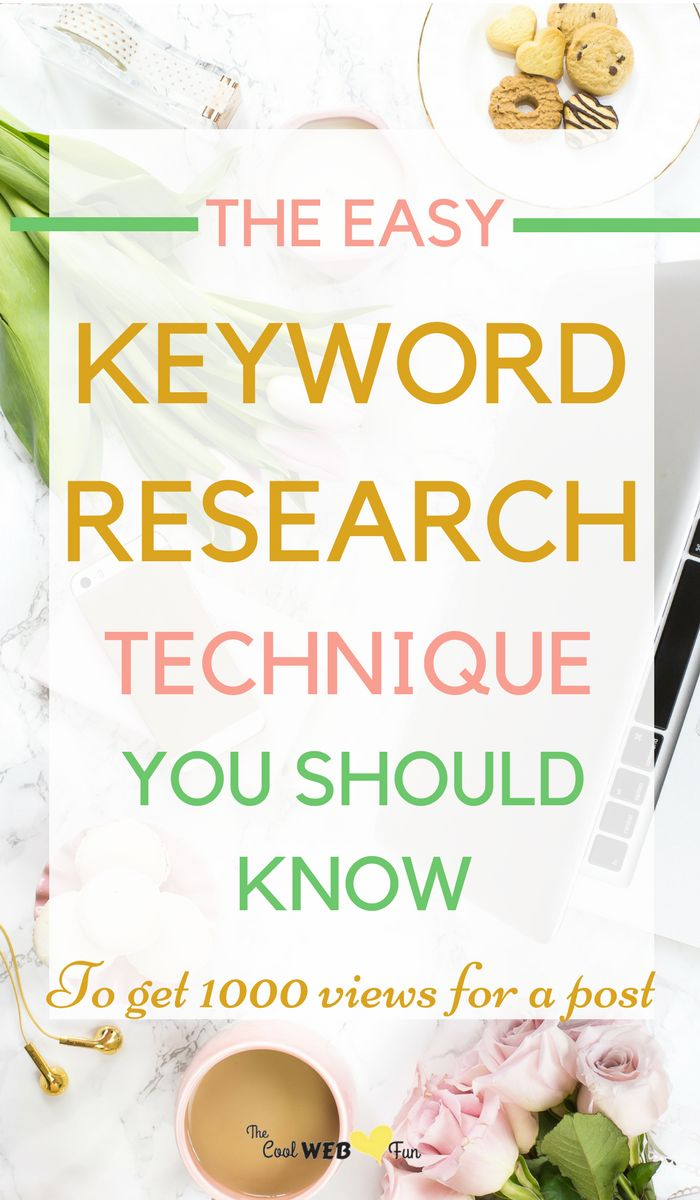 How to do effective keyword research process? How to find out the most searched keywords on google? Click http://www.coolwebfun.com/keyword-research-process/