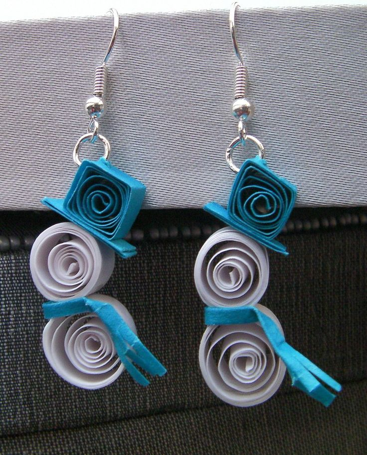 Pin by Nithya Nagarajan on Quilled Earrings | Pinterest