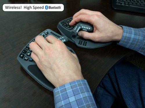 正に変態デバイス!ワイヤレス・キーボード&マウス一体型デバイス『KeyMouse™』が 『kickstater』で出資募集中! | ガジェット通信