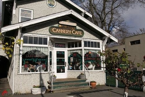 Cannery Cafe in Steveston, Richmond, BC
