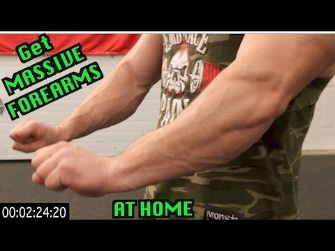 Intense 5 Minute At Home Forearm Workout - YouTube