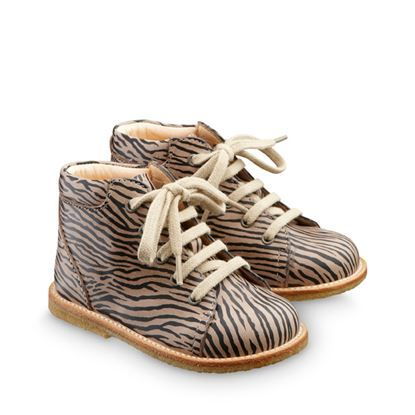 ANGULUS kids starter shoes AW14 STYLE 2361-101 Tiny Zebra