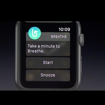 Tech: Apple Just Introduced a Breathing App. Heres Why Thats Brilliant It may sound silly but it could be very helpful TIME.com
