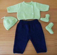 Ensemble tricot pour bébé prématuré - free