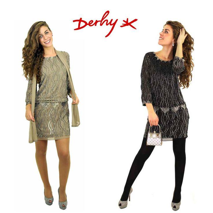 ¿Quieres brillar en la cena de empresa? Aquí tienes nuestra propuesta: vestidos con #lentejuelas de Derhy. En clfashionable.com