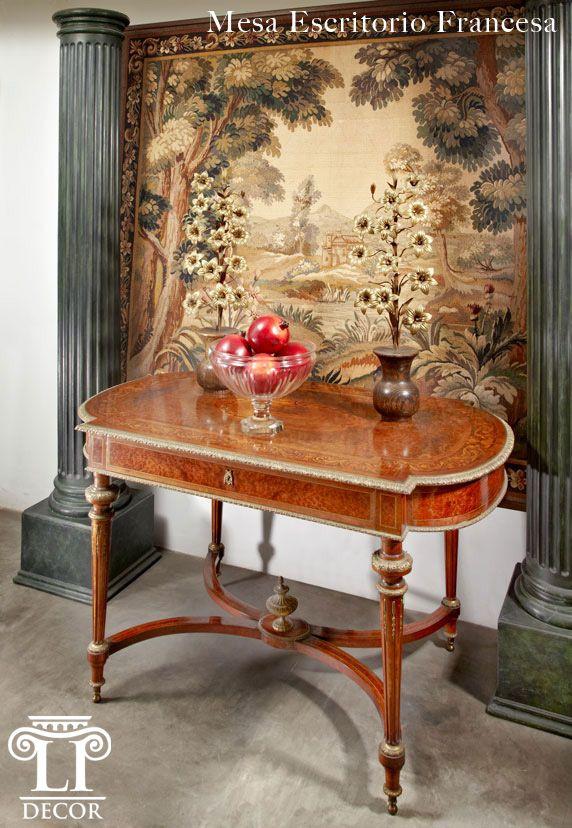 Muebles de Época  Mesa escritorio francesa -