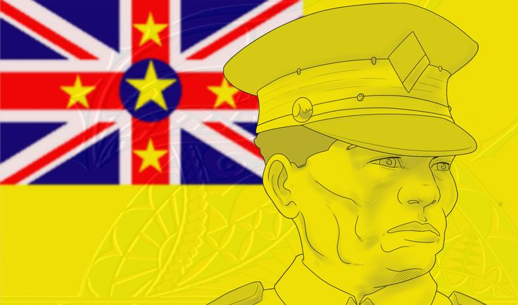 Niuean soldiers did their part to bring world peace in WW1. http://readingwarrior.com/we-are-the-rock/