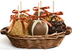 Gourmet Chocolate Candy Caramel Apples, Unique Wedding Favors & Gift Ideas (Candy Apples)