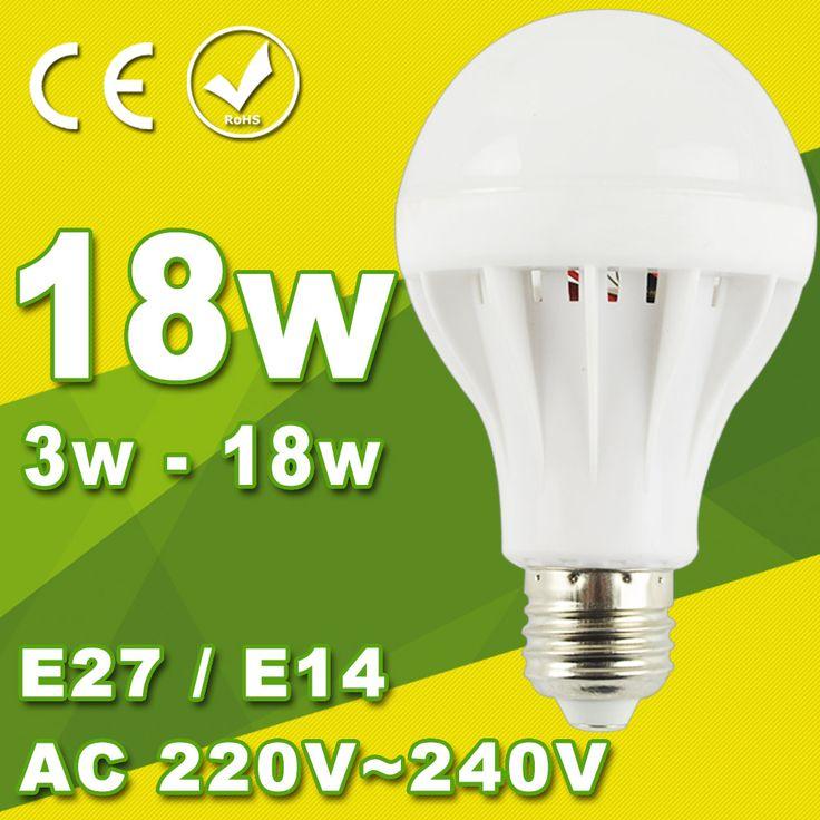 Wholesale Lampada LED Bulb E27 Bombillas LED Lamp E14 220V 3W 5W 7W 9W 12W 18W LED Light bulb SMD 5730 Cold Warm White Spotlight #Affiliate
