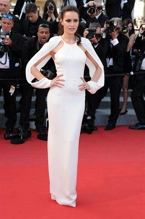 Festival di Cannes 2015: Fahriye Evcen in Tom Ford.