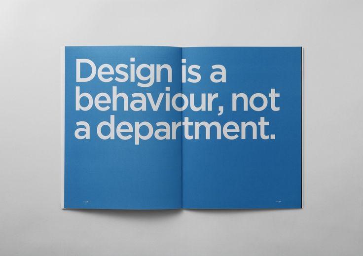 design is a behaviour not a department