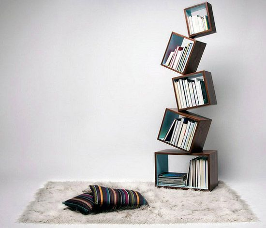 30 Unique Book Shelves And Shelving Units, Creative Home Decorating Ideas