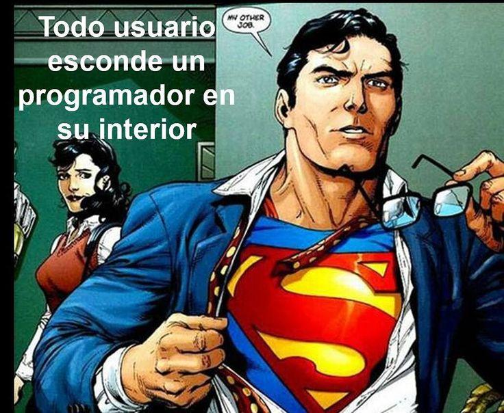 "Todo usuario esconde un programador en su interior  #EUD #citizendeveloper #programador #software…"""