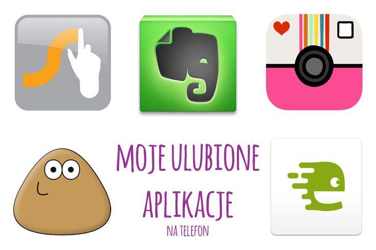 Moje ulubione aplikacje na telefon