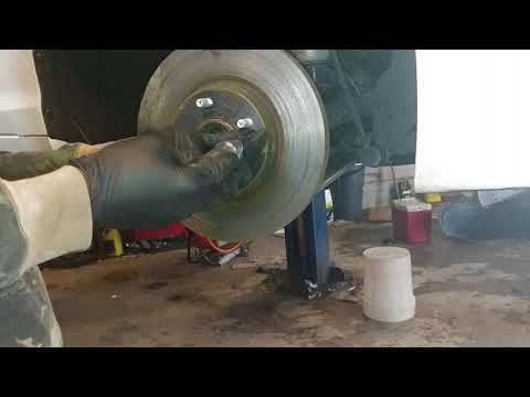 sonata front brakes replacement rotors and pads