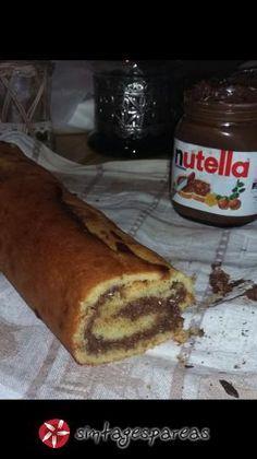 Ρολό κέικ με nutella #sintagespareas