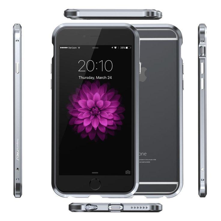 iNACU® iPhone 6/6S /Plus, Uni-body Full Bumper, Aluminum Metal Protective Frame #iNACU