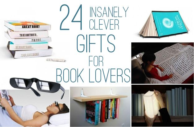 24 Insanely Clever Gifts For Book LoversClever Gift, Book Lovers, Insanity Clever, Gift Ideas, Book Gifts, Bookworm Gift, Christmas Ideas, 24 Gift, Birthday Ideas