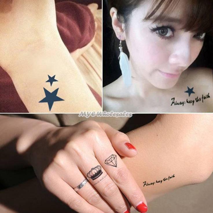 временные татуировки тела вставить водонепроницаемый татуировки наклейки оптом для мужчин и женщин