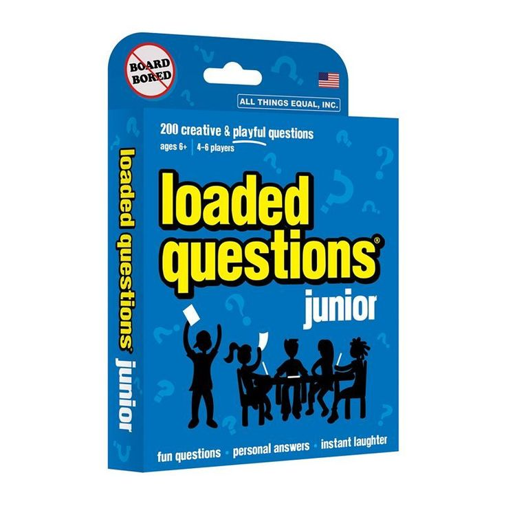 Loaded Questions Junior Game by All Things Equal, Multicolor