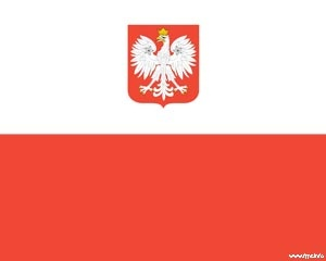 42 best flags backgrounds for powerpoint images on pinterest flags this is the poland flag embedded into a powerpoint template toneelgroepblik Gallery