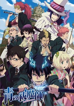 Blue exorcist, one of the most amazing anime's I ever watched and the funniest except for blend s. I recommend blue exorcist to any anime fan who likes swords, funny friend zone and action.  Season 1 and a movie has been dub but season 2 has not, also season 3 comes out next year.