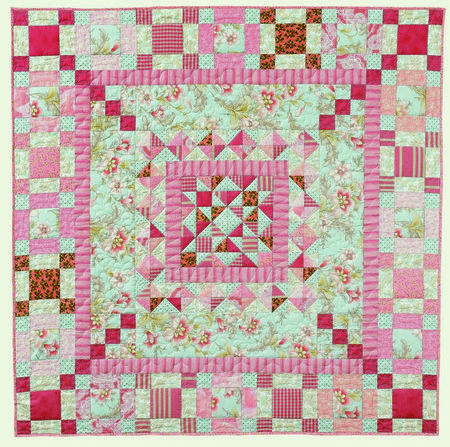 """Antique Mist"" in my book ""Focus on the Center"" http://patsloan.biz/patsloansfocusonthecenter.aspxCenter Book, Antiques Mists, Quilty Things, Pat Sloan, Book Focus, Medallions Quilt, Pattern Book, New Books, Center Pattern"