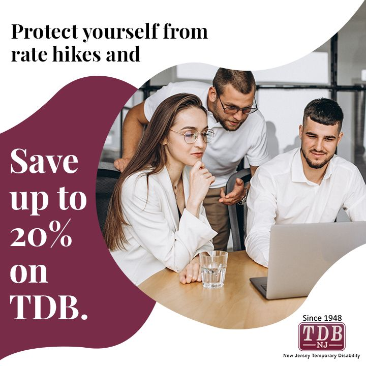 Save up to 20% on TDB.   Insurance benefits, Disability ...