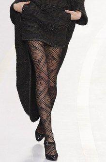 Défilé automne -hiver Chanel Défilé de mode, tendance, le collant graphique, le collant imprimé