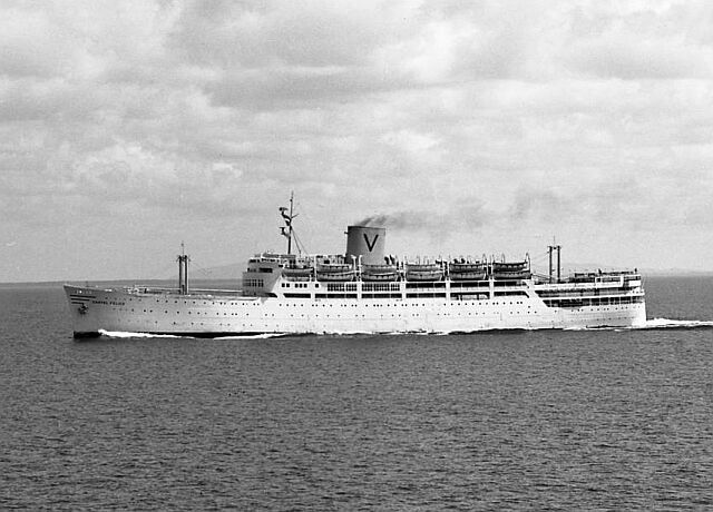 Castel Felice: the ship that brought us to WA as 10-pound Poms.