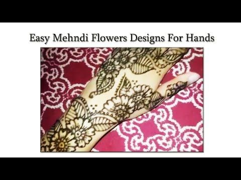 Simple Floral Henna Design For Hands | Makeup Tutorial Channel... See More Here : http://goo.gl/jDA1dc  Hope Your Enjoy! ..... Like, Share, Comment & Subscribe Us!  More Makeup Tutorial Channel videos ... Click Here: https://www.youtube.com/channel/UC3SbRN6zFEgCdnKHZj28B4w #hennatutorial #mehnditutorial #hennamehnditutorial #makeup #makeuptutorial