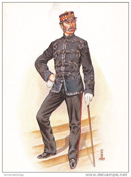 Officer 99th Lanarkshire Regiment 1876