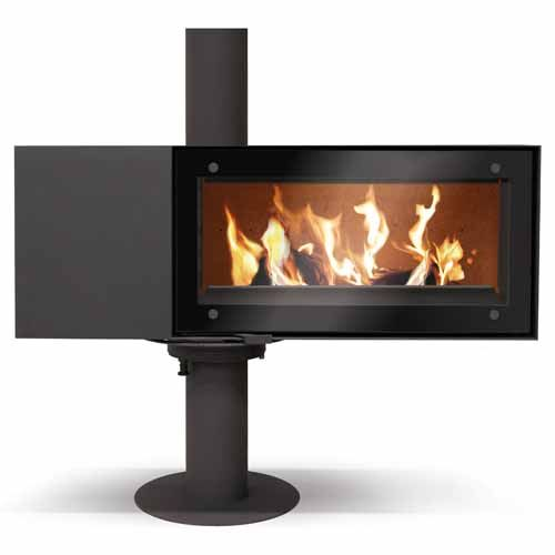 The Skantherm Turn Wood Burning Stove This Ultra Modern