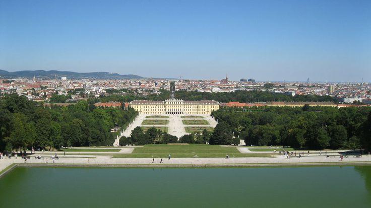 Schonbrunn Palace -Vienna by  Emil Langhe on @deviantART