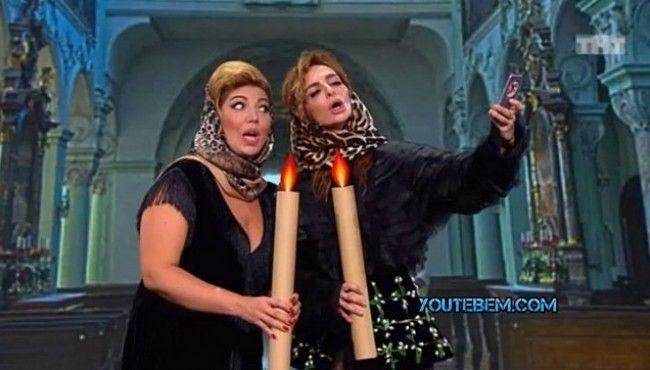 Камеди Вумен — Не поминай Бога в ЦУМе 😄 😜 😂 👍 #видео #юмор #девушки #мужчины #женщины #приколы #семья