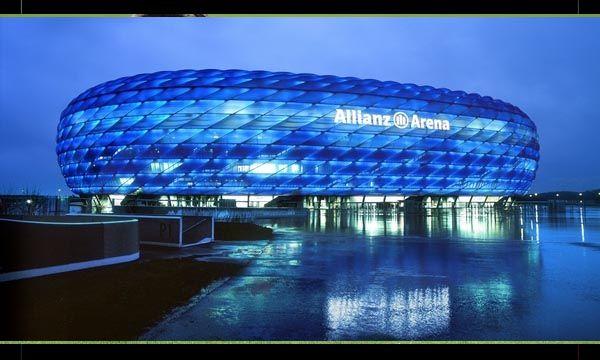 Stadion Allianz Arena di  Jerman