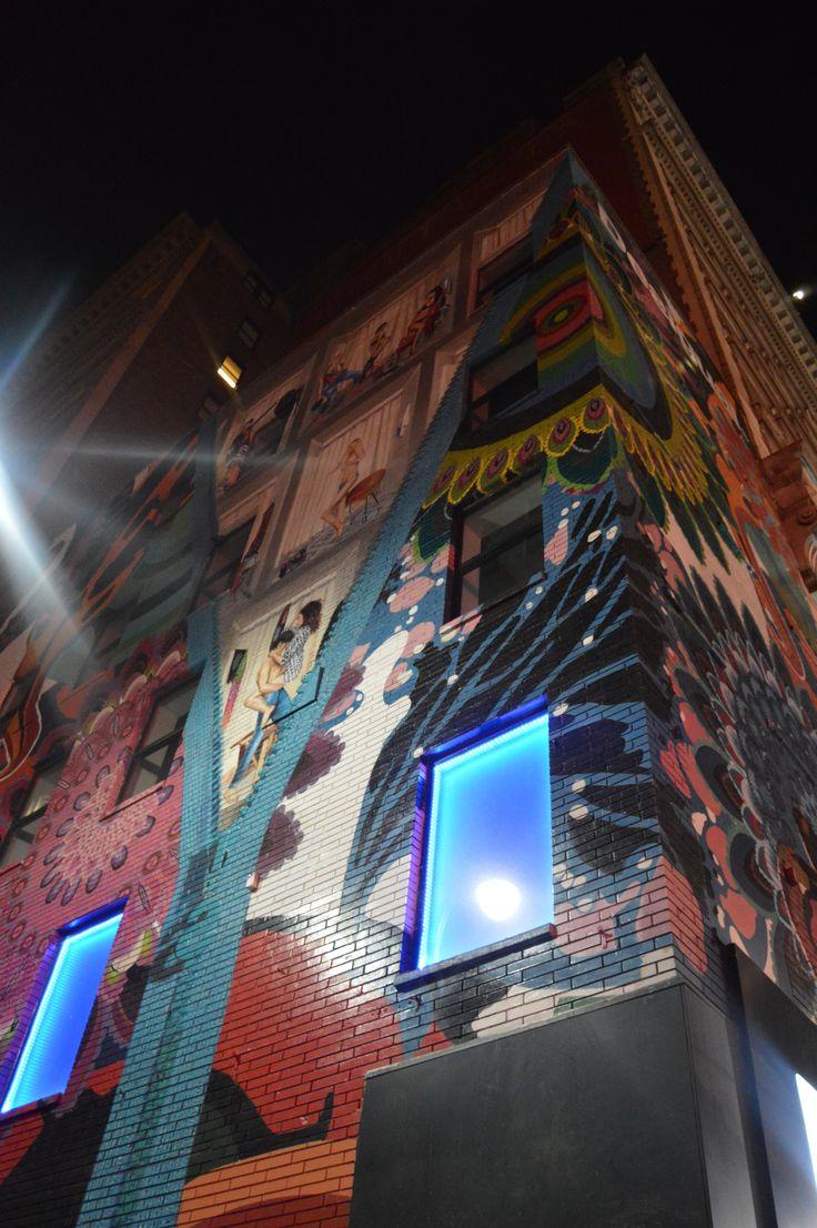 El arte de follar en los murales de Nueva York.